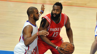 Chris Paul defensant James Harden (Reuters)