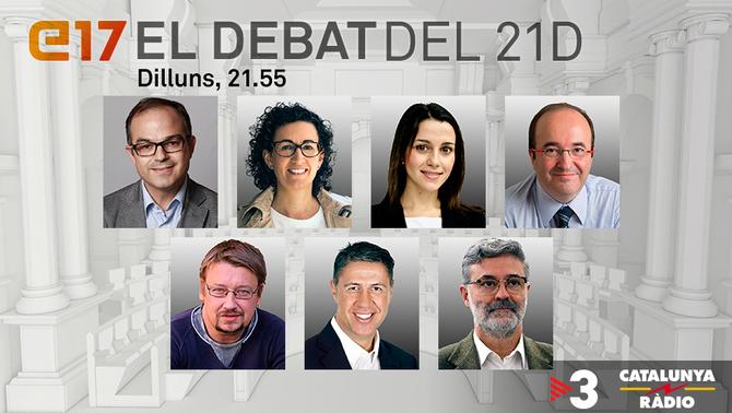 Debat a les eleccions al Parlament 2017
