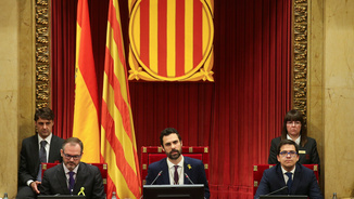 Roger Torrent, nou president del Parlament de Catalunya