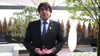 Missatge de Sant Jordi de Carles Puigdemont des de Berlín