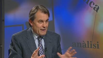 Artur Mas, candidat de CiU
