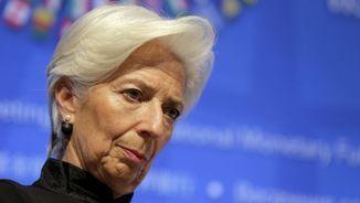 La presidenta de l'FMI, Christine Lagarde
