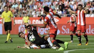 Girona 0 - Sevilla 1. La segona part