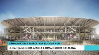 Grifols pot ser el cognom comercial del nou estadi del Barça