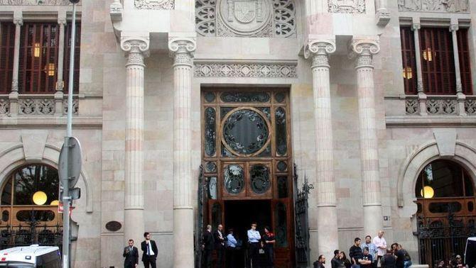 Els Mossos recuperen l'exclusiva de la vigilància del TSJC