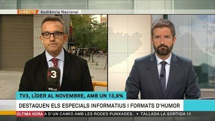 TV3, cadena líder per tercer mes consecutiu