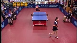 Tenis taula femení: Final ETTU Cup Girbau Vic TT-Metz TT