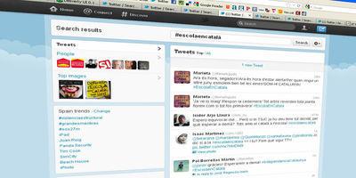 La xarxa defensa la immersió lingüística a l'espera de la sentència del TSJC