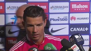 "Cristiano Ronaldo: ""No ets un periodista intel·ligent"""