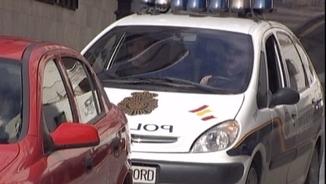 Un cotxe de la Policia Nacional en una imatge d'arxiu