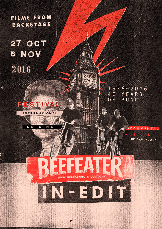 Cartell del festival Beefeater In-Edit