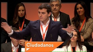 Albert Rivera defensa que al centre hi ha la virtut