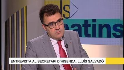 Lluís Salvadó: En els pressupostos del 2017 hi ha prevista una partida per fer front a la renda garantida