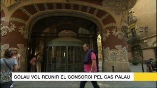 Els titulars del 16/05/17: Colau vol reunir el consorci pel cas Palau