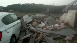 Els greus efectes d'un possible tornado a l'Alt Empordà