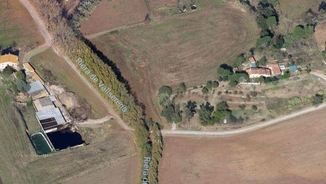 Camins rurals de Sant Antoni de Vilamajor a la zona on va haver-hi l'accident mortal d'aquest dissabte (Foto: Google Maps)