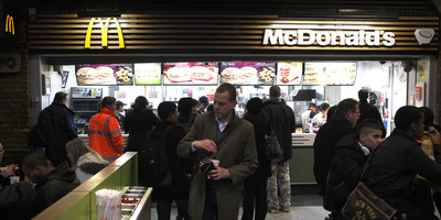 Un establiment McDonalds a Londres. (Foto: Reuters)