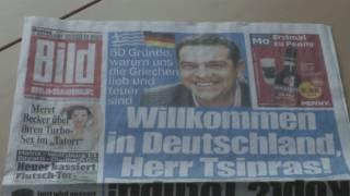 Tsipras i Merkel busquen un acord a Berlín
