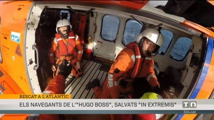 "L'""Hugo Boss"", rescatat ""in extremis"""