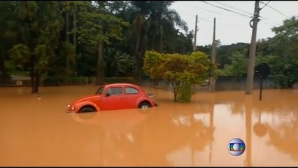 Inundacions a Sao Paulo