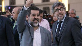 Jordi Pina i Jordi Sànchez