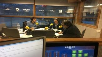 Aué un nau collòqui damb Angel Porté, Hug de la Rosa e es naui deputats Ana Geli e Javier Rivas