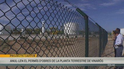 Anul·lat el permís d'obres de Castor a Vinaròs