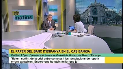 "Guillem López Casasnovas: ""Estem sortint de la crisi, entre cometes"""