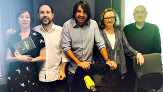 Simona Levi, Enric Vila, Francesc de Dalmases, Carme Valls i Joan Manuel Tresserras