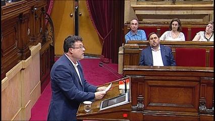 """Catalunya Sí que es Pot vota amb els independentistes a favor d'un referèndum """"efectiu"""""""