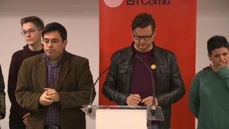 Els resultats de Barcelona en Comú: tenquen l'acord de govern amb el PSC
