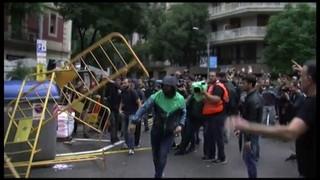 Un informe de Policia Nacional exposa que quaranta agents van patir lesions l'1 d'octubre