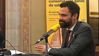 Roger Torrent, president del Parlament