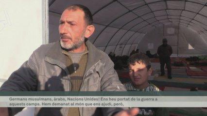 Més de 30.000 sirians atrapats a la frontera ambTurquia