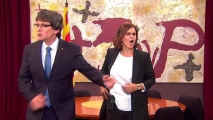 Polònia - Sáenz de Santamaría intervé el monòleg de Puigdemont