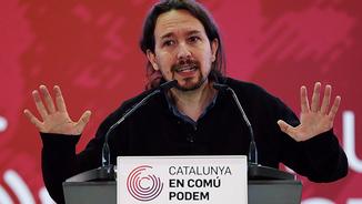Pablo Iglesias, líder de Podem