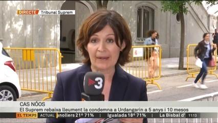El Suprem rebaixa en 5 mesos la condemna a Urdangarin