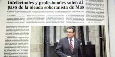 CiU i ERC critiquen l'oportunisme del manifest contra l'onada secessionista catalana