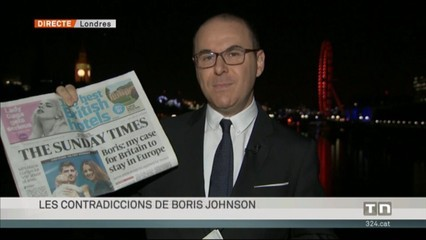 Les contradiccions de Boris Johnson