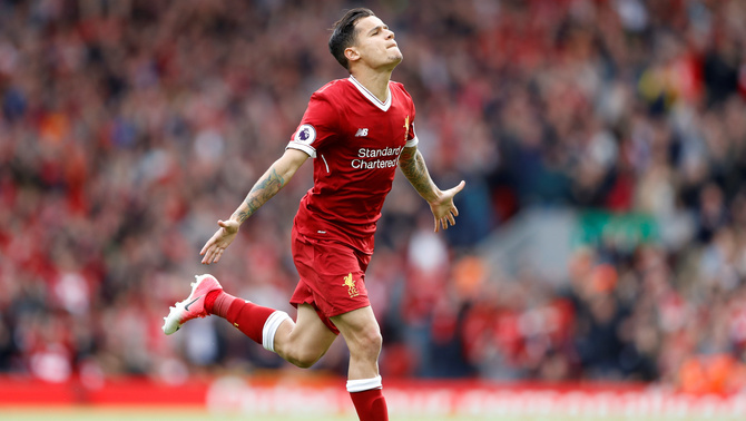 Philippe Coutinho (Foto: Reuters)