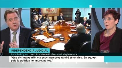 A debat l'informe del Consell d'Europa sobre el poder judicial espanyol: és independent del poder polític?