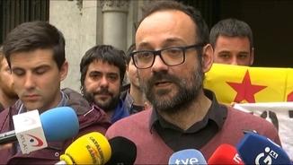Benet Salellas, advocat dels dos joves condemnats per cremar fotos dels reis a Girona