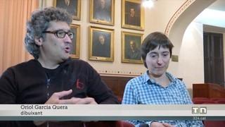 Pompeu Fabra, heroi de còmic, en el seu any