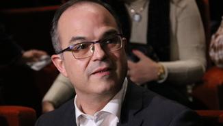 El conseller destituït i número 4 de JxCat, Jordi Turull, en un acte electoral el desembre a Vic (ACN)