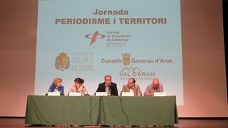 """Meddia aranés"": Dusau debat organizat peth Collègi de Periodistes sus periodisme e territòri"