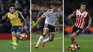Bellerín, Cancelo i Soares (Reuters)
