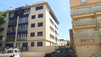 Edifici ocupat a Calafell