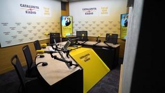 El nou estudi de Catalunya Ràdio