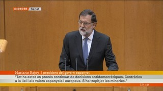 "Mariano Rajoy: ""No hi ha alternativa"""
