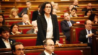 Marta Rovira al Parlament